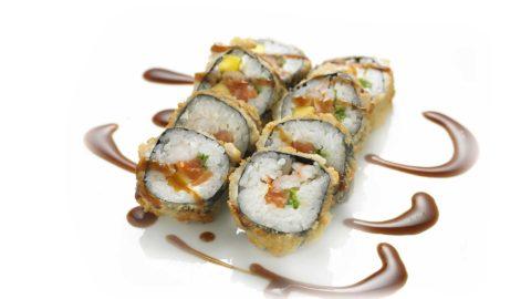 Fritert Maki - Fried Futo Maki Sushi