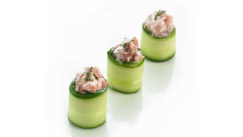 Gunkan Agurk Tunfisk Nishi Sushi Oslo