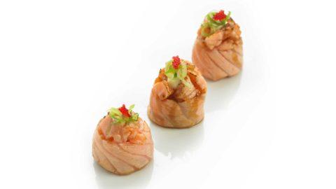 Gunkan Laks Nishi Sushi Oslo