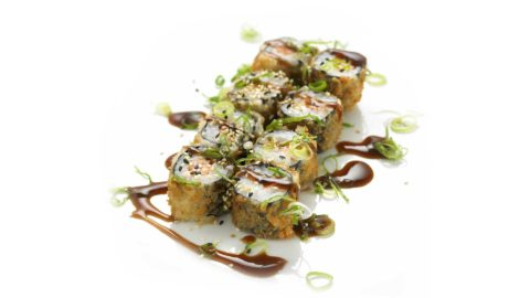 Fritert Maki - Hot Philly Maki Sushi