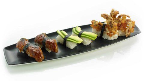 Nigri Ål Avocado Softshell Nishi Sushi Oslo