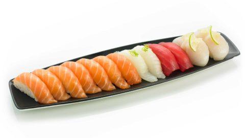 Nigri Kveite Tunfisk Nishi Sushi Oslo