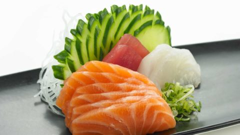 Sashimi Kombinasjonsrett 10 skiver