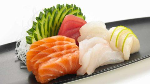 Sashimi Kombinasjonsrett 20 skiver