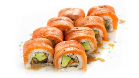 Special Drafon Maki Unagi Dragon Nishi Sushi Oslo