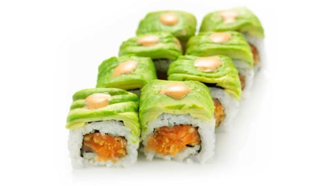 Special Dragon Maki Green Dragon Nishi Sushi Oslo