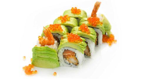 Special Dragon Maki Panko Fritert Nishi Sushi Oslo