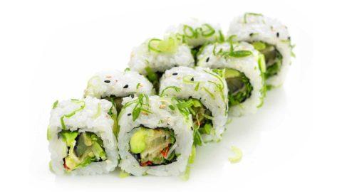 Vegetar Maki Spicy Nishi Sushi Oslo