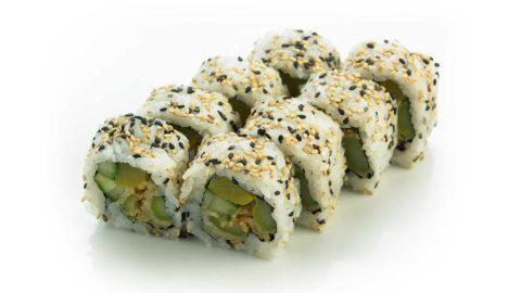 Vegetar Maki Tempura Nishi Sushi Oslo
