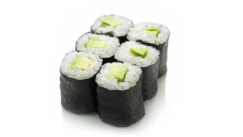 Hoso Maki - Avocado Maki Sushi