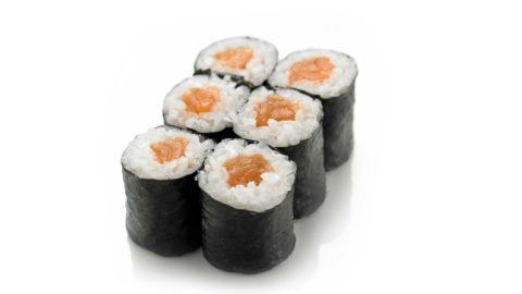 Hoso Maki - Shake Maki Sushi