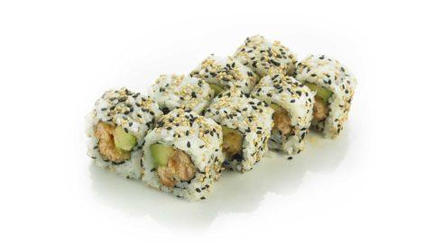 Ura Maki - Tempura Larks Maki Sushi
